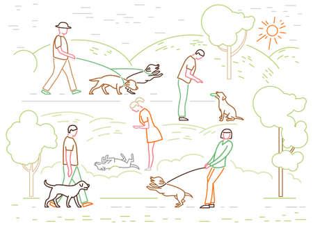 Dog Command Icons