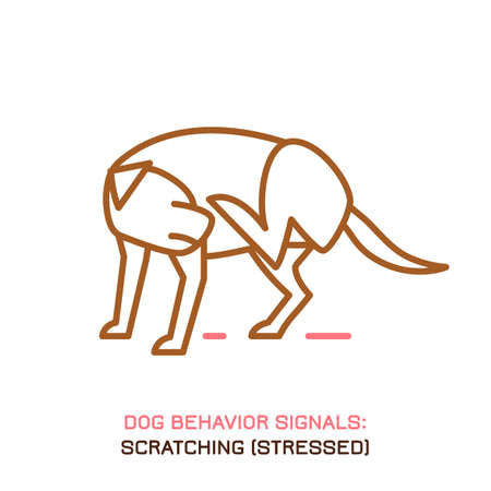 Dog behavior icon
