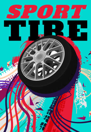 Sport Tire Poster