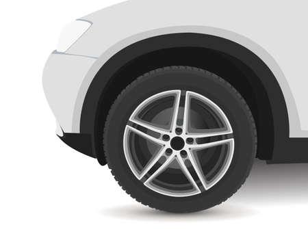 Car wheel image Ilustração