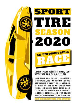 Sport Tire Poster