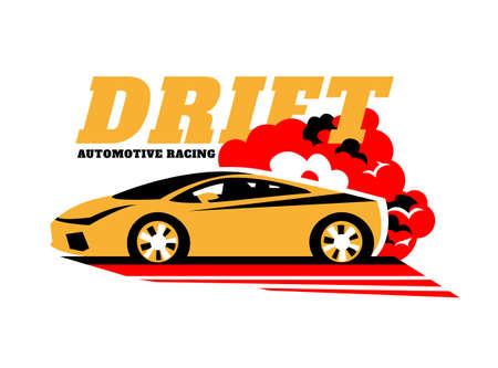Drift Car Logo