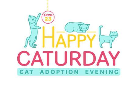 Cat Adoption Event-03 Ilustração