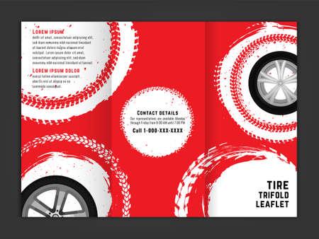 Vector automotive banner template
