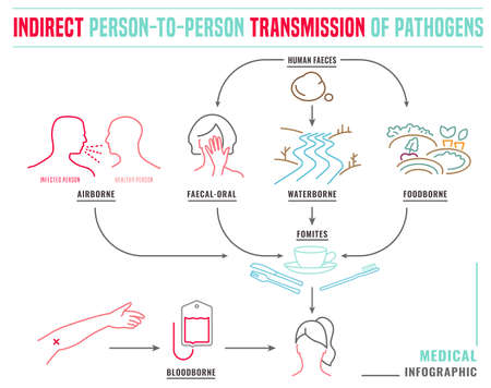 Indirect disease transmission