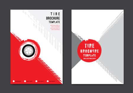 Vector automotive brochure template Banque d'images - 152328973