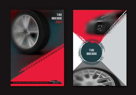 Vector automotive brochure template Banque d'images - 152990452