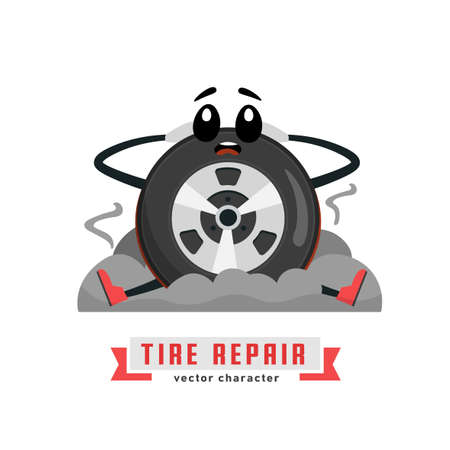 Tire character image