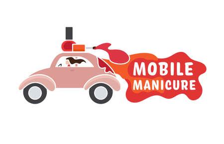 Mobile beauty salon Banque d'images - 153574581