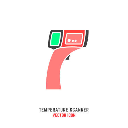 Forhead temperature icon Banque d'images - 153574585