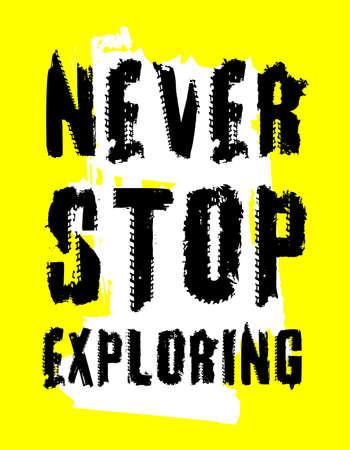 Off-Road hand drawn grunge lettering. Vector illustration