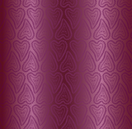 Seamless pattern of burgundy silk fabric (wallpaper) Vector
