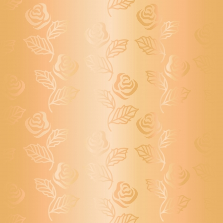 Ornamental satin seamless pattern of roses