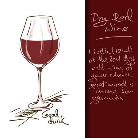 vinho: Ilustra
