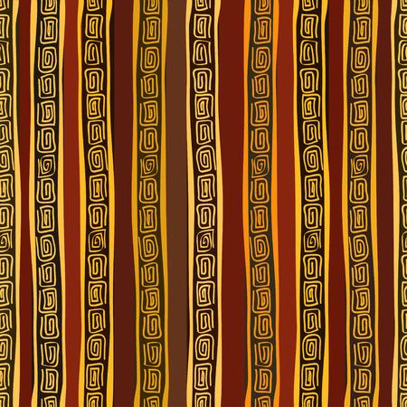 African Gold motif ethnique homogène Banque d'images - 23508900
