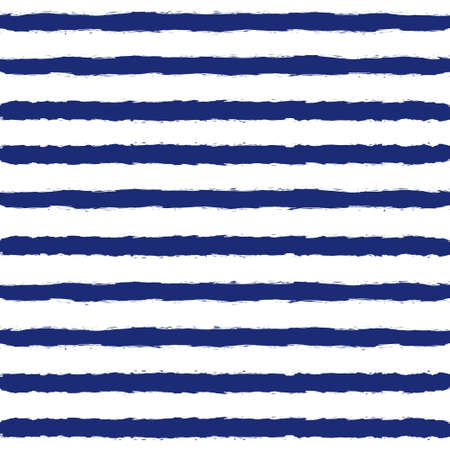 navy blue suit: Blue and white marine striped background. Grunge sailor suit seamless pattern. Illustration