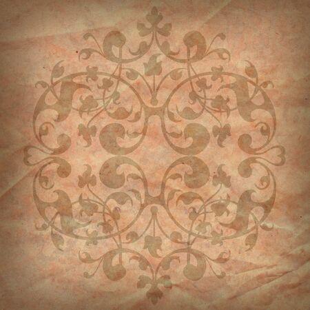 Structuur van de oude, textuur, gerimpeld Wall paper Stockfoto