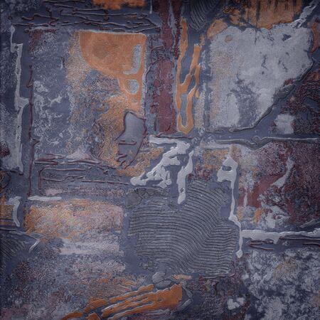 de grijze wall paper abstract texture reliëf Stockfoto