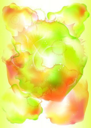 colorful abstract background decorative pictures Stock Photo