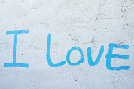 Words of love on the wall, Symbol of love