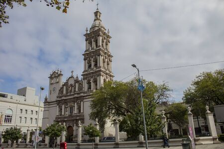 View of the urban city of Monterrey Mexico Banque d'images