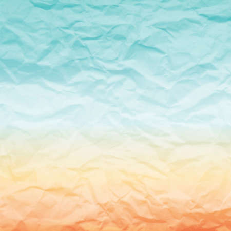 Abstract background for vintage design. The effect of crumpled paper. Illustration
