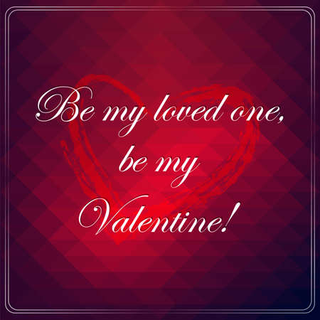 confess: Love quote poster. Effects poster, frame, colors background and colors text are editable. Happy Valentines card. Wedding invitation.