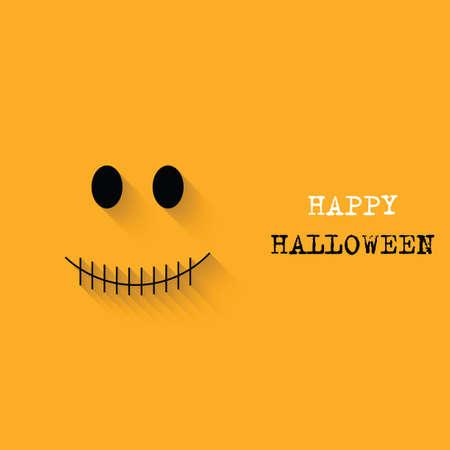 Abstract Halloween background. Vector illustration Vector