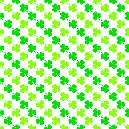 shamrock seamless: Seamless pattern with  shamrock Illustration