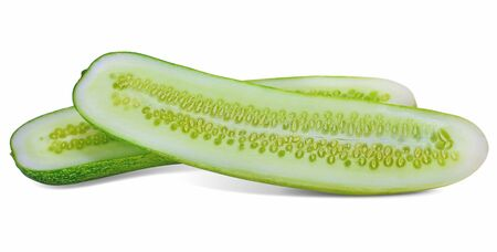 Cucumber isolated on white background Stock fotó