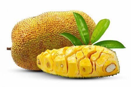 Sweet Jackfruit isolated on white background Banco de Imagens - 149289067
