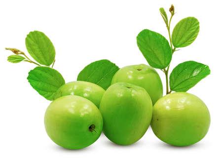 Jujube fruit isolated on white background Banco de Imagens - 151468987