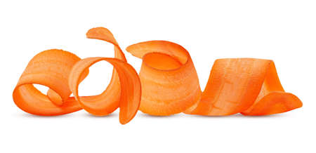 Set of Carrot isolated on white background Banco de Imagens