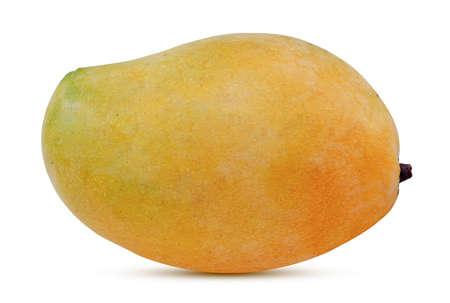 Sweet mango fruit isolated on white background