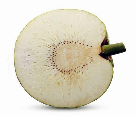 breadfruit isolated on white background Standard-Bild