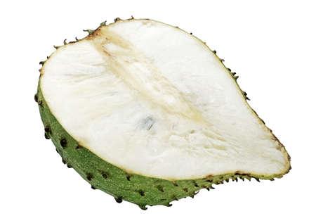 Sweet soursop isolated on white background Standard-Bild