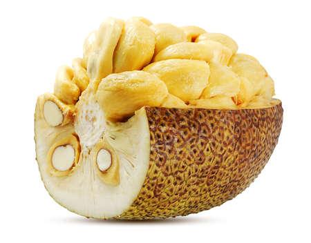 Sweet Jackfruit isolated on white background