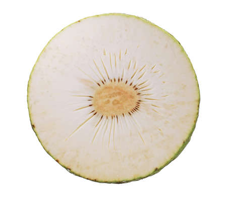 Breadfruit isolated on white background