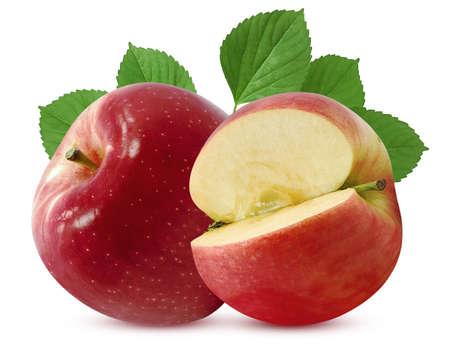 Fresh Apple fruit isolated on white background