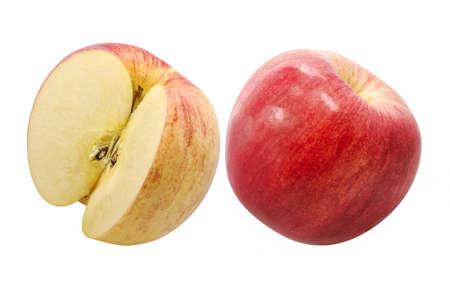 apple fruit isolated on white background