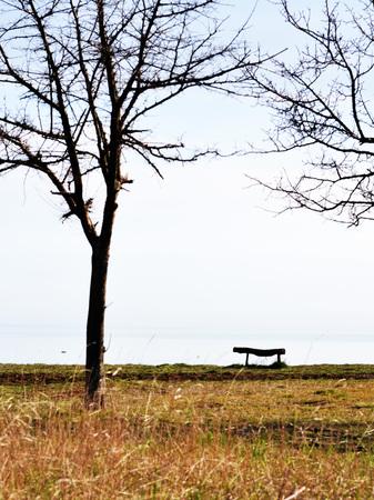 soledad: soledad doblemente Foto de archivo
