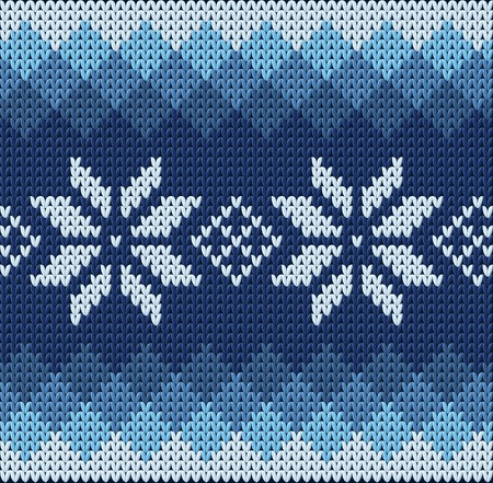 winter clothes: Knitted jacquard pattern