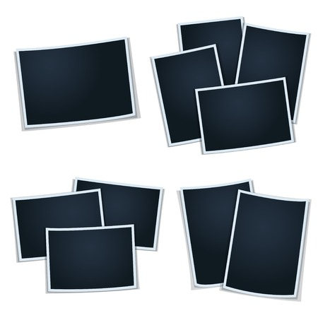 picture card: Set of photos (frames)