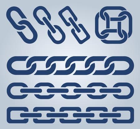 chain links: Chain icons.