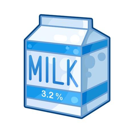 carton de leche: Cartón de la leche