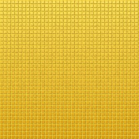 Vintage golden pattern of squares Vector