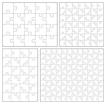 20 24: Puzzle set 20, 24, 49, 120 pieces Illustration