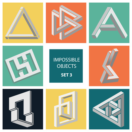 paradox: Impossible objects. Set 3.