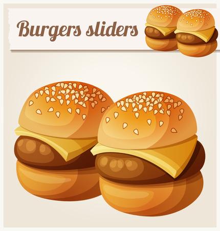 sandwich de pollo: Serie de alimentos y bebidas y los ingredientes para cocinar. Vectores