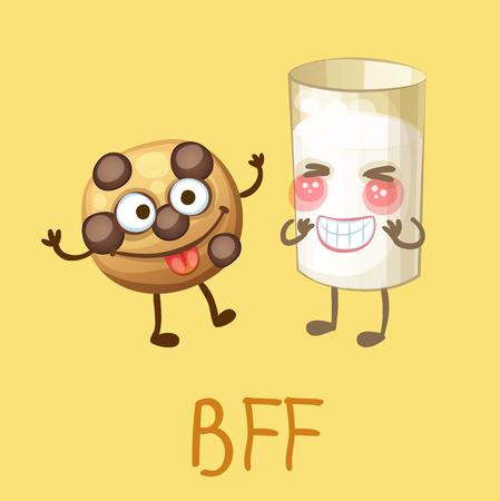 Bff Cartoon Stock Photos. Royalty Free Bff Cartoon Images